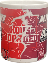 Load image into Gallery viewer, UNM-NMSU House Divided Coffee Mug
