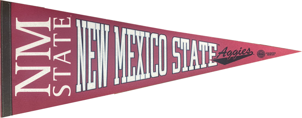 New Mexico State University Official Pennant