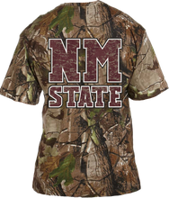 Load image into Gallery viewer, BRAND NEW- New Mexico State Realtree Pocket Tee