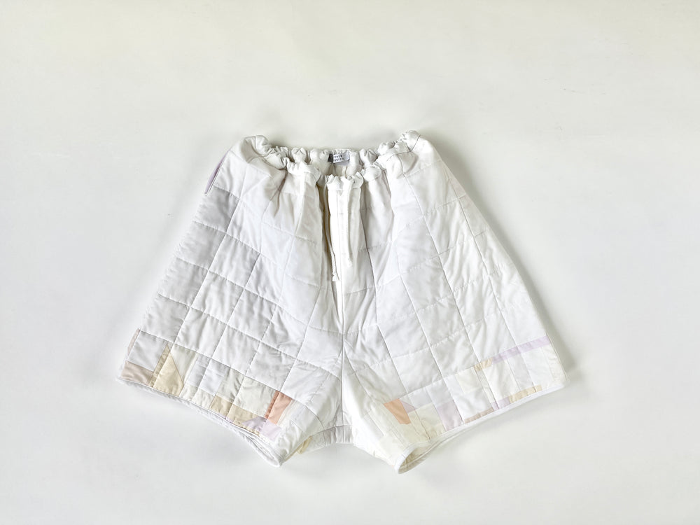 cloud quilted shorts