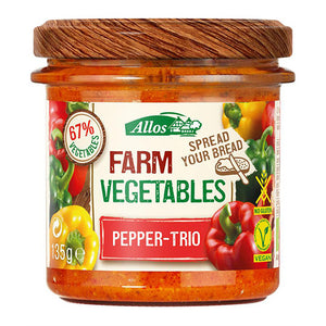 Allos Farm Vegetables Paprika Trio
