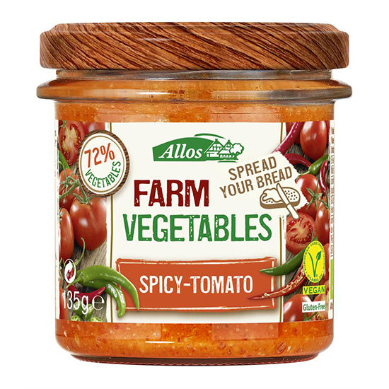 Allos Farm Vegetables Spicy Tomato