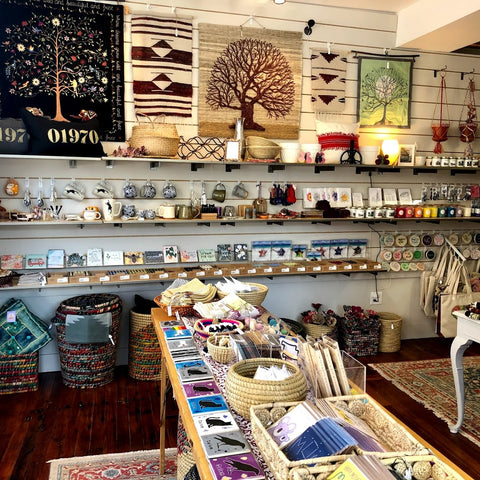 Moody's Home & Gifts Salem, MA interior of store