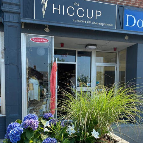 The Hiccup storefront in Swampscott, MA