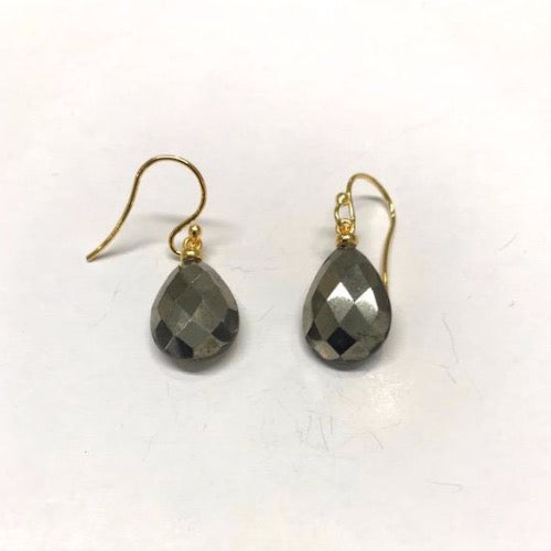 Earrings with Hematit