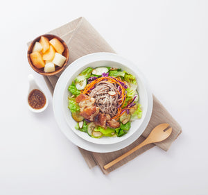 Load image into Gallery viewer, Soba Noodle Salad (Soba dressing)
