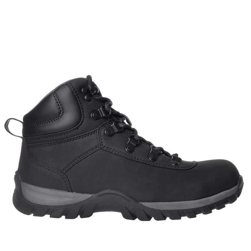 Nord Trail NT Work Men's Edison Black Safety Toe Waterproof Athletic Work Boot