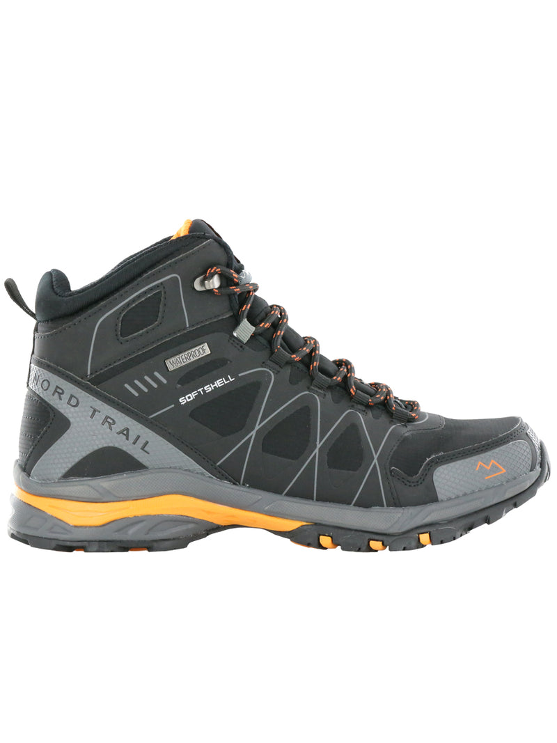 Mt. Hood Hi WP : Black/Orange