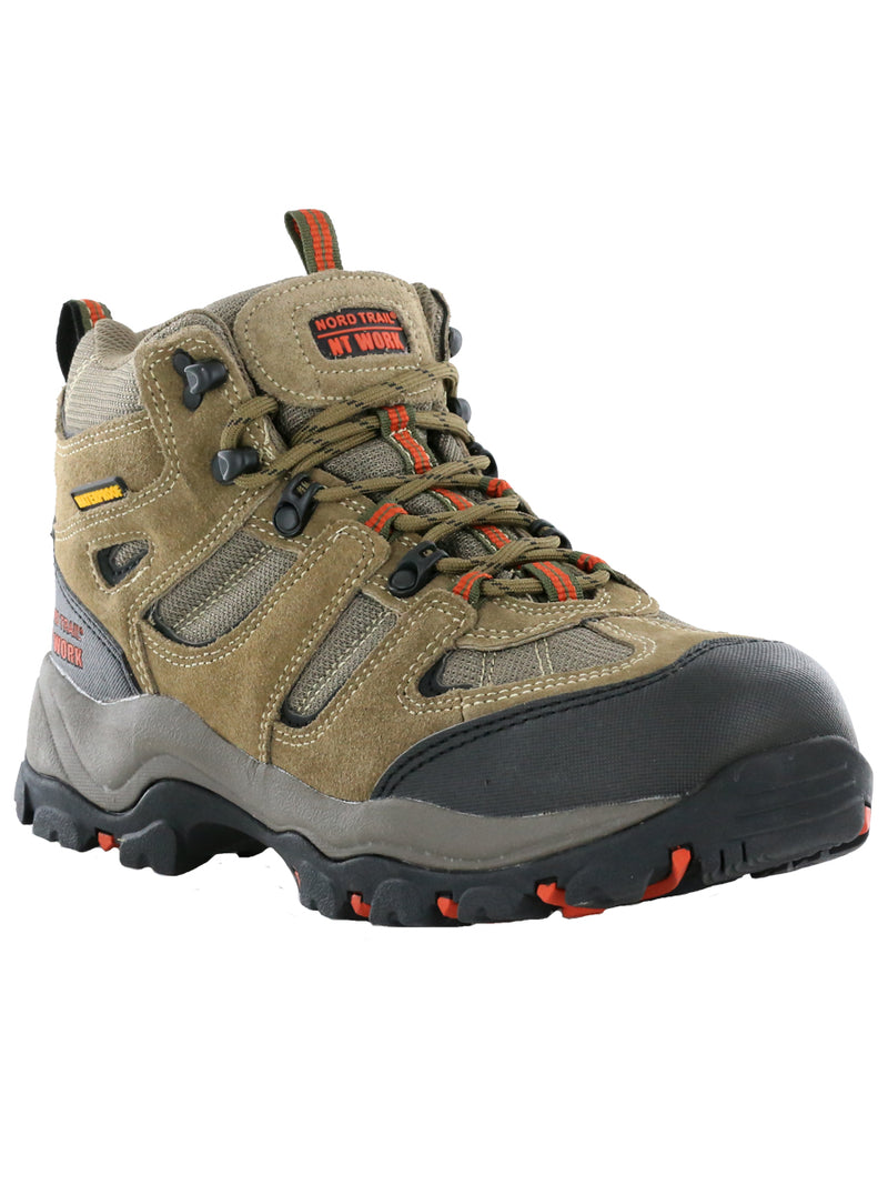 Nord Trail NT Work Men's Washington Safety Toe Waterproof Leather Work Boot