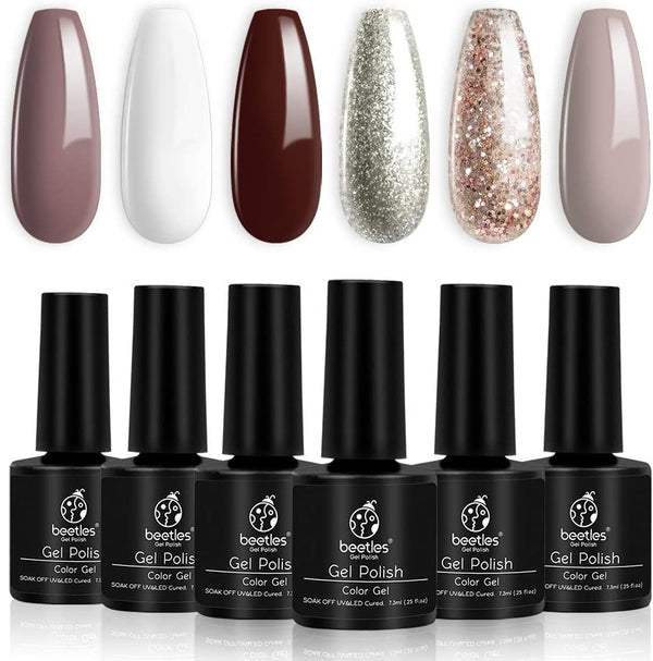 Gel Polish 6 Colors Set | Gingerbread