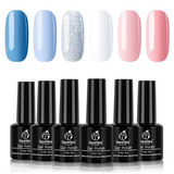 Gel Polish 6 Colors Set | Cotton Candy