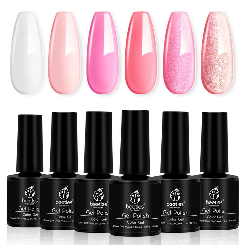Gel Polish 6 Colors Set | Girly Girl