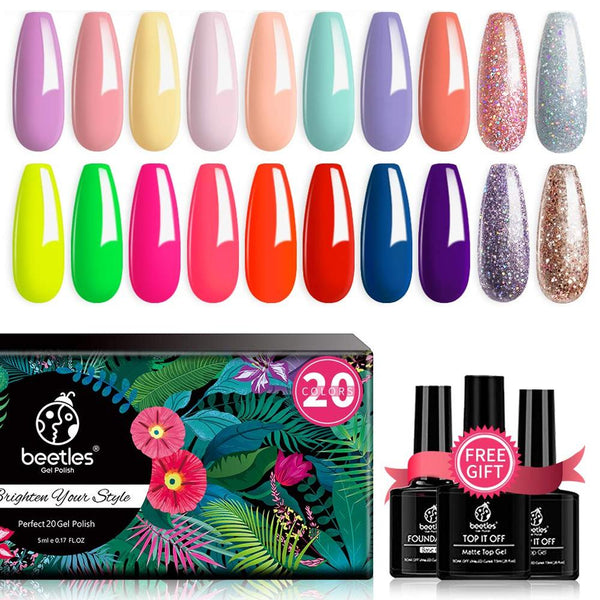 Gel Polish 20 Colors Set | Spring into Summer