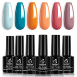 Gel Polish 6 Colors Set | Farmstand Fresh
