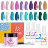 Dip Powder Nails Kit #124 | MERMAID
