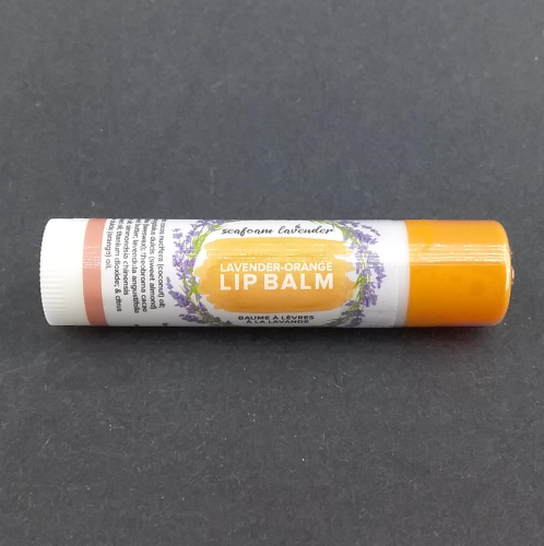 Seafoam Lavender Lip Balm - Orange