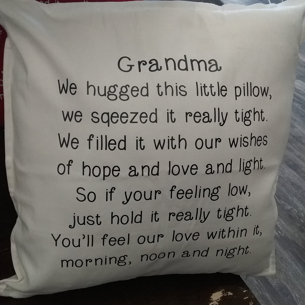 Grandma pillow