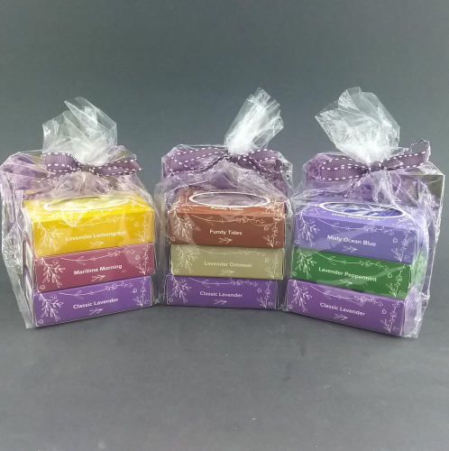 Seafoam Lavender Tripple Decker Soap Gift Pack