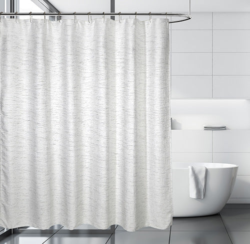 Harlow Jacquard Fabric Shower Curtain
