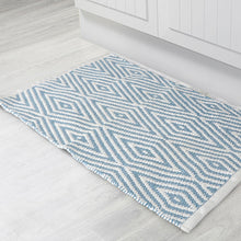 Load image into Gallery viewer, Oxford Cotton Bath Mat