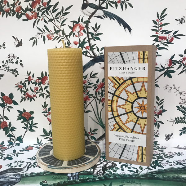 Beeswax Foundation Pillar Candle