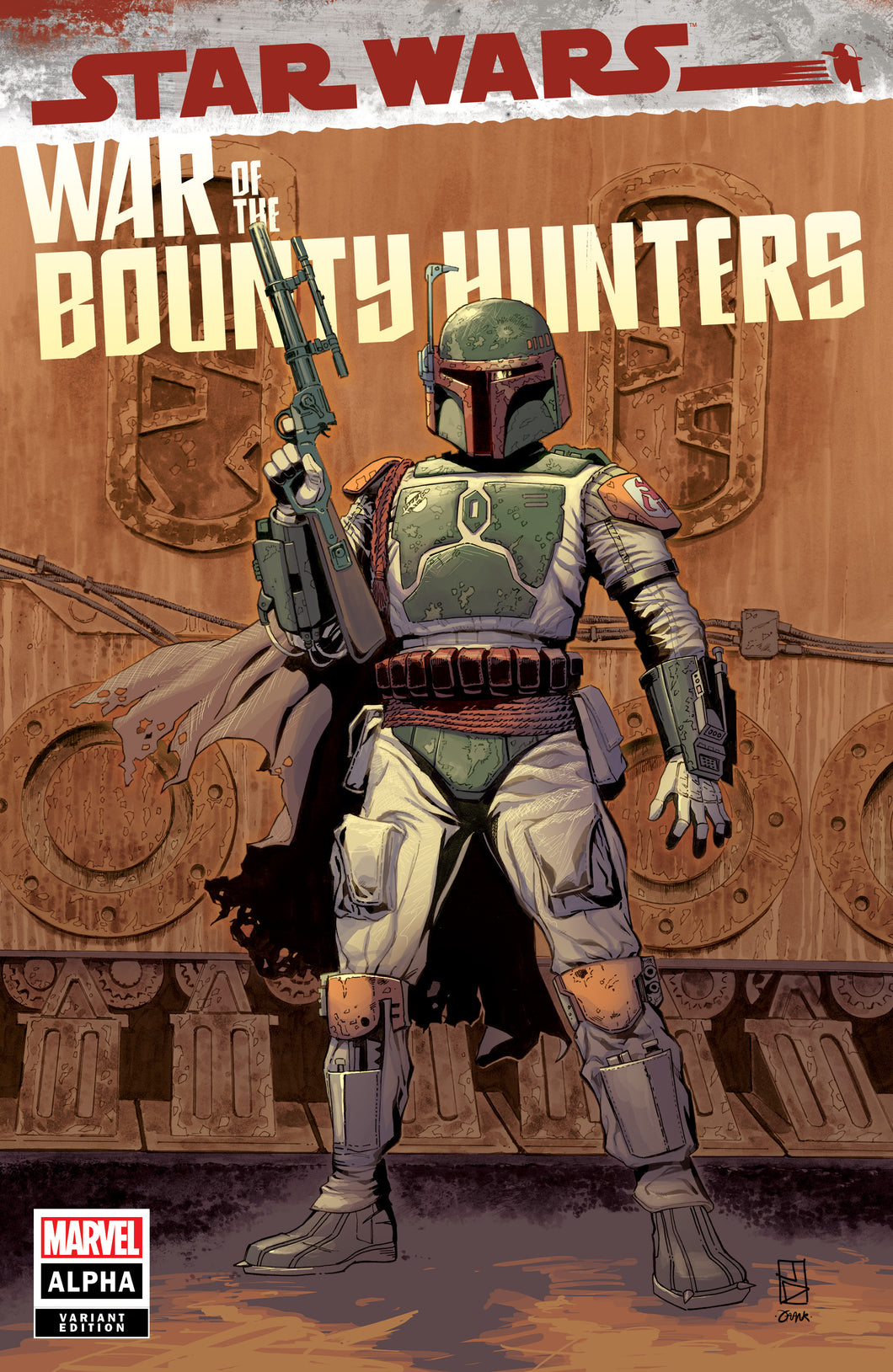 PRESALE - Star Wars: War of the Bounty Hunters - Alpha #1 - STORE EXCLUSIVE