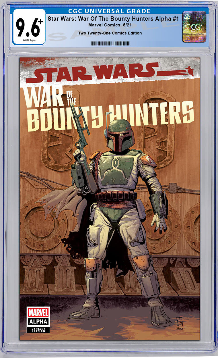 GRADED PRESALE 9.6+ - Star Wars: War of the Bounty Hunters - Alpha #1 - STORE EXCLUSIVE