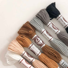 DMC Matte Cotton Thread (Neutral Tones)