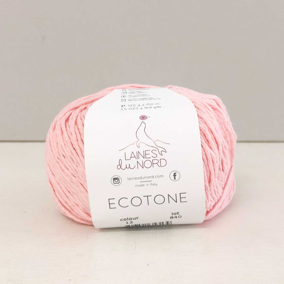 Laines Du Nord Ecotone Recycled Cotton Yarn - Candy