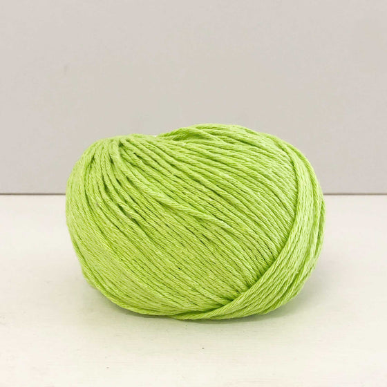 Laines Du Nord Ecotone Recycled Cotton Yarn - Lime