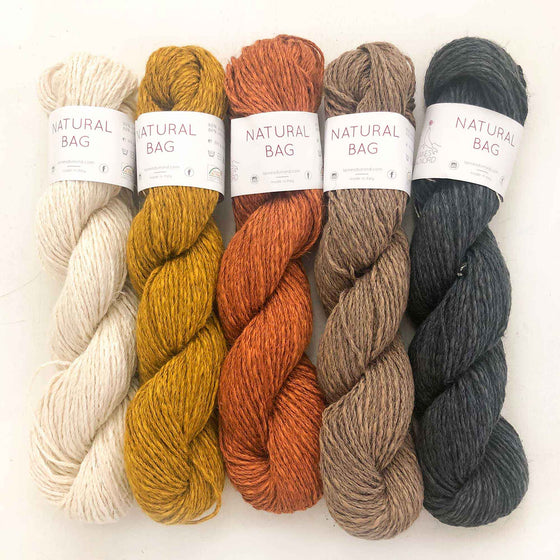 Laines Du Nord Natural Bag Yarn - Wood