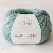 Laines Du Nord Soft Lino Yarn - Sea Glass