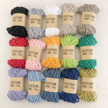 Mini Ecotone Recycled Cotton Yarn (10g)