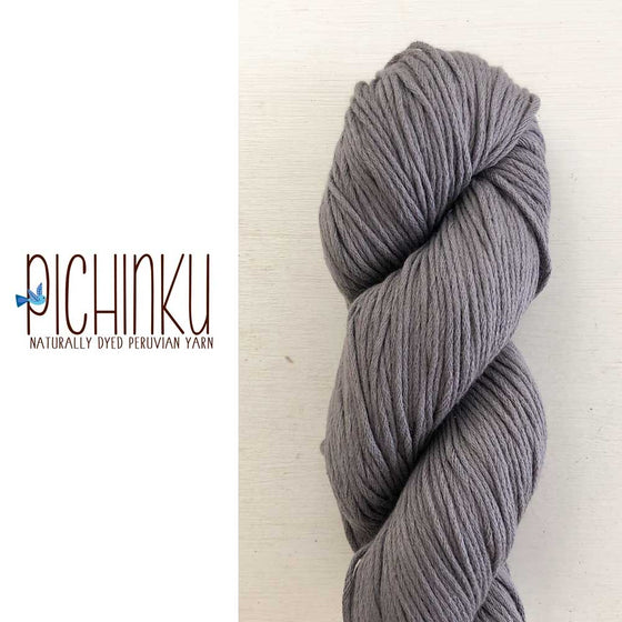 grey eucalyptus natural dyed yarn peru organic cotton GOTS certified pichinku in singapore