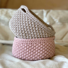 Pebbled Basket Crochet Pattern (Byiroiro)