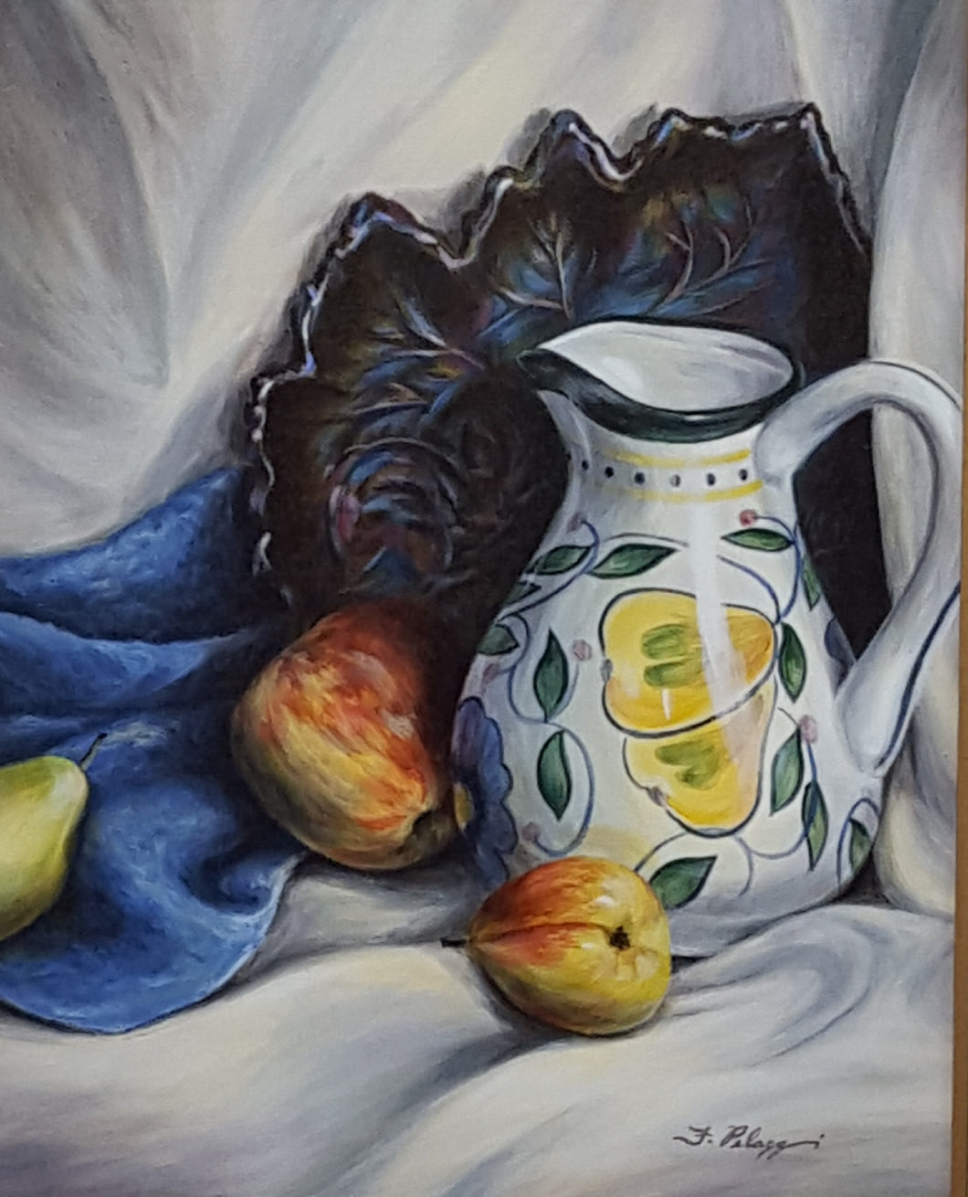 Pitcher with Fruit