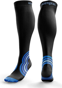 Compression Socks for Men Women Skiing Flight Travel Sports Running Anti DVT
