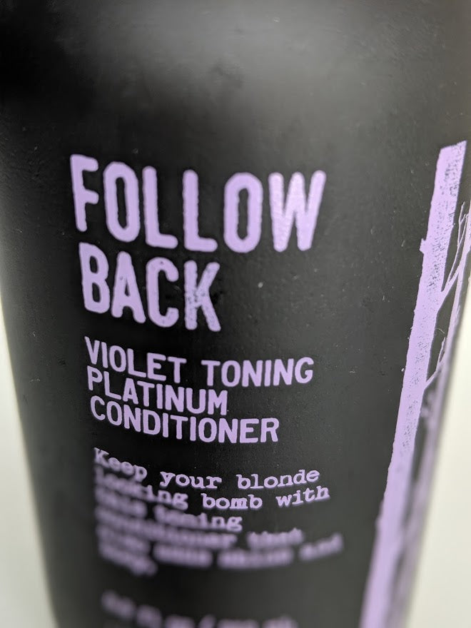 Follow Back: Violet Toning Platinum Conditioner