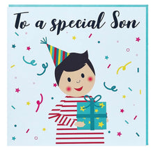 Load image into Gallery viewer, Son Greeting card - to a special son