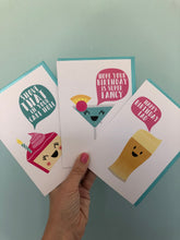 Load image into Gallery viewer, funny Birthday card bundle,3pk , cute, multibuy card bundle handy to have for birthday emergencies.
