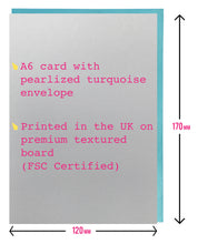 Load image into Gallery viewer, Prosecco Birthday card - Prosecco is the answer gold foil greeting card, drinking cards