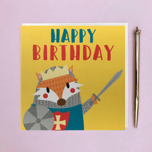 Load image into Gallery viewer, Children's birthday cards 4pk. Ideal for children's parties. 2 girls cards, 2 boy cards
