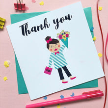 Load image into Gallery viewer, Thank you card - greeting card