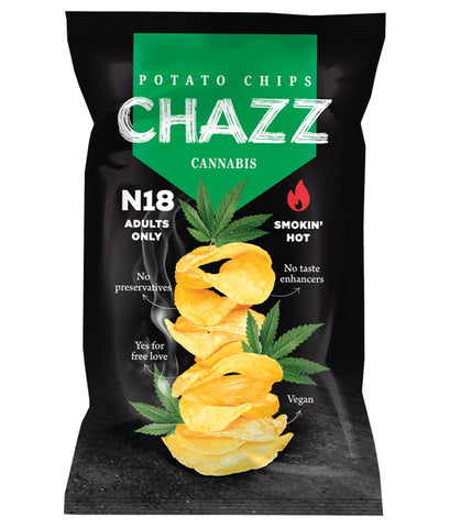 Humus chips with sweet chili peppers, organic