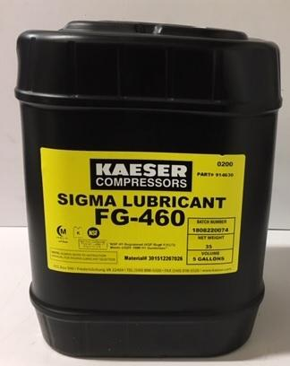 20914650 OEM HPC KAESER SIGMA FOOD GRADE 680 OIL 19LTR CAN