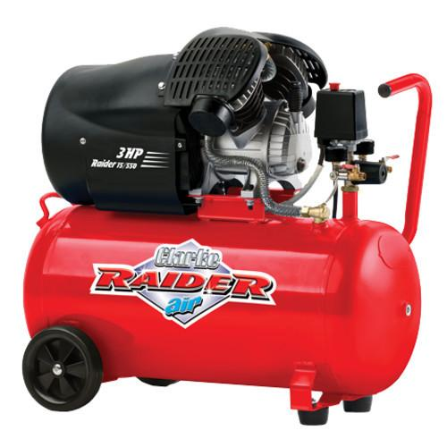 2242117 RAIDER 15/550 3HP 50 LTR V/TWIN COMPRESSOR