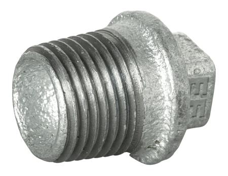 AL-290 BANDED HOLLOW PLUG - BSPT MALE