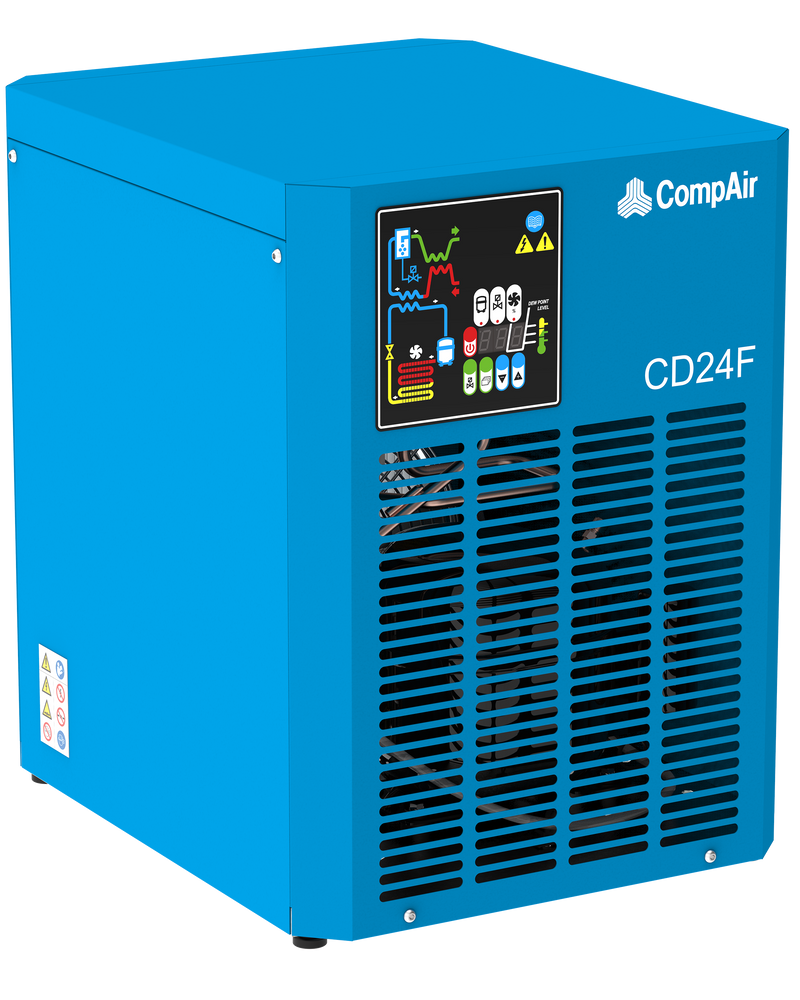 CD12F Refrigerated Compressed Air Dryer & Filters