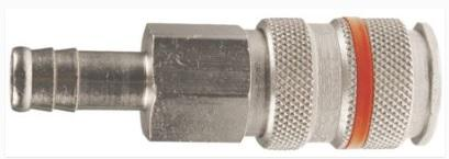 CP19-10 PARKAIR SERIES 19 COUPLING MALE BARB HOSE TAIL  1/4, 5/16 3/8, 1/2 INCH