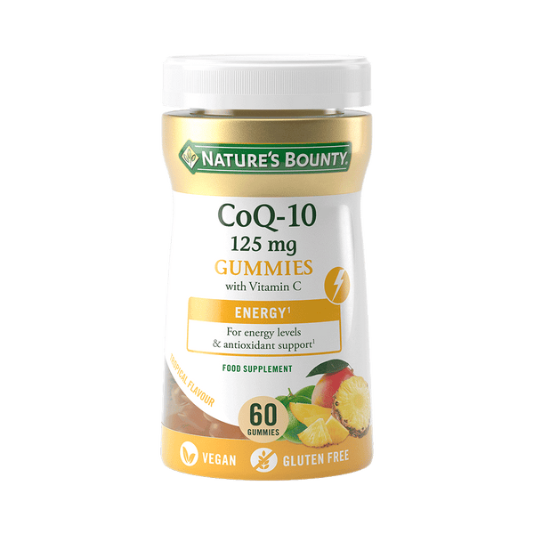 CoQ-10 125mg Gummies with Vitamin C